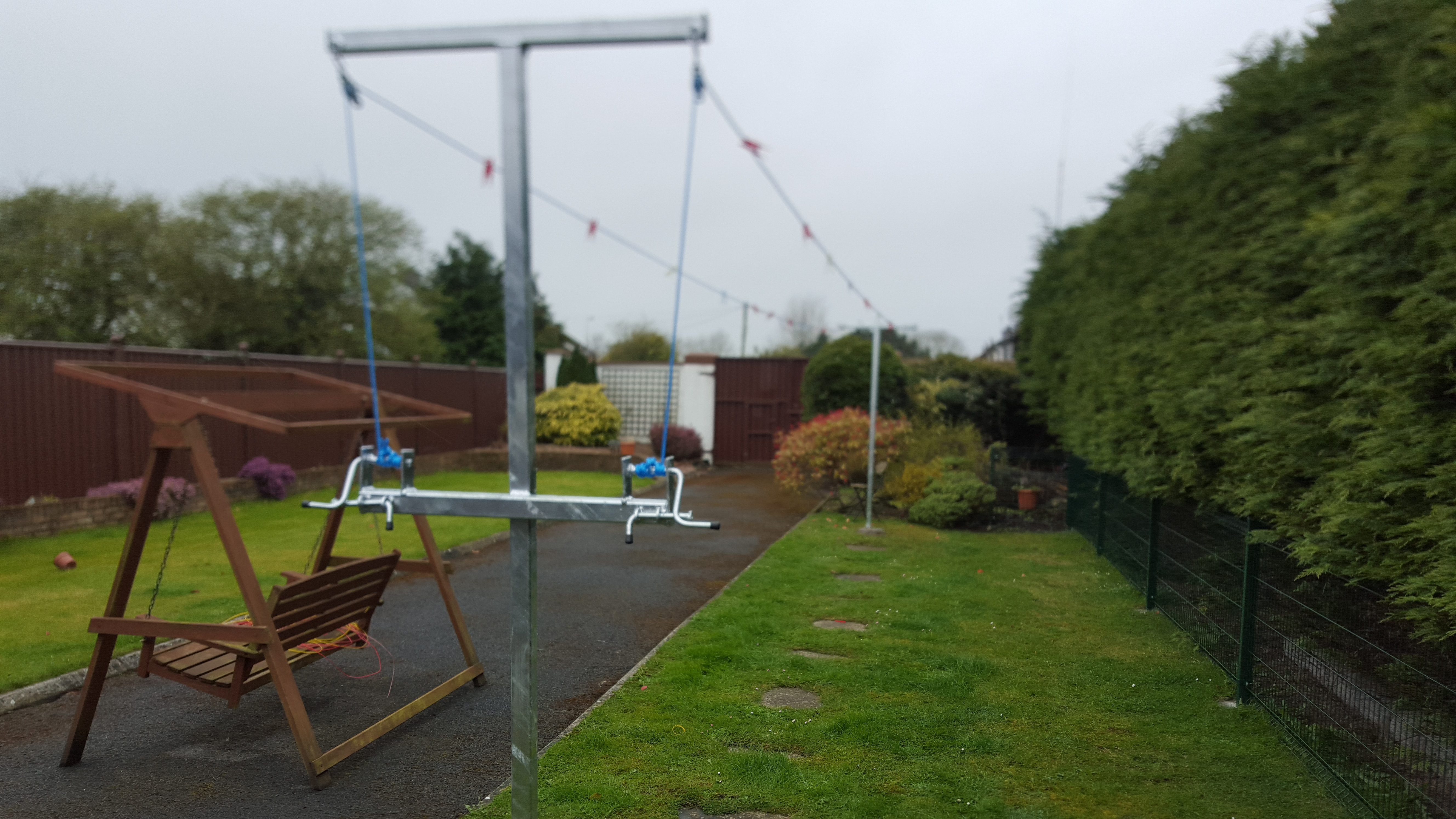 double clothes lines the clothesline company
